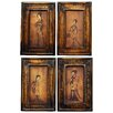 <strong>Celestial Music 4 Piece Graphic Art on Canvas Set</strong> by Oriental Furniture