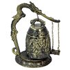 <strong>Oriental Furniture</strong> Dragon Gong Decorative Bell