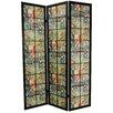 "Oriental Furniture 72"" x 51"" Kabuki Shoji 3 Panel Room Divider"