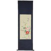 <strong>Oriental Furniture</strong> Blossom and Butterflies Wall Hanging