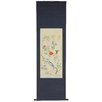 Oriental Furniture Birds and Peony Wall Hanging