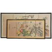 "Oriental Furniture 24"" x 48"" Harmony 4 Panel Room Divider"