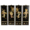 <strong>Oriental Furniture</strong> 4 Piece Lady Generals Wall Décor Set