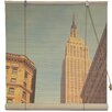 Oriental Furniture Empire State Building Bamboo Roller Blind