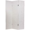 "Oriental Furniture 70.88"" x 47.25"" 3 Panel Room Divider"