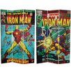 "<strong>71"" x 47.25"" Tall Double Sided The Invincible Iron Man 3 Panel Room...</strong> by Oriental Furniture"
