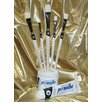 Weber Art Permalba® Oil Brush White Bristle PERFECT BRIGHT™ (Set of 5)