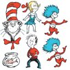 <strong>Large Dr Seuss Characters 2-sided</strong> by Eureka!