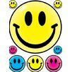 <strong>Eureka!</strong> Window Cling Smile Faces 12 X 17