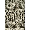 Bashian Rugs Norwalk Black/Ivory Animal Print Area Rug
