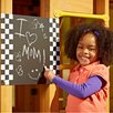<strong>Magnetic 1.33' x 2.04' Chalkboard</strong> by Swing-n-Slide