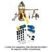 Swing-n-Slide Ready to Build Custom Alpine DIY Swing Set Hardware Kit - Project 613
