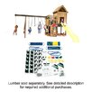 <strong>Ready to Build Custom Kodiak DIY Swing Set Hardware Kit - Project 513</strong> by Swing-n-Slide