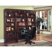 Parker House Furniture Barcelona Library Credenza Desk with Hutch