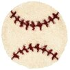 <strong>LR Resources</strong> Senses Shag Baseball Kids Rug