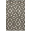 LR Resources Jaali Gray Rug