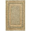 LR Resources Oushak Gray/Khaki Area Rug