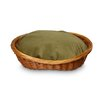 <strong>Luxury Wicker Dog Basket and Bed</strong> by Snoozer Pet Products