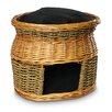 Snoozer Pet Products Wicker Double Decker Cat Basket and Bed