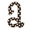 <strong>Polka Dot Letters Hanging Initials</strong> by My Baby Sam