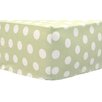 My Baby Sam Pixie Baby Polka Dot Sheet