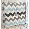 My Baby Sam Chevron Baby Throw Pillow