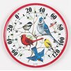 Designer Edition Indoor / Outdoor Songbirds Thermometer