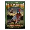 American Expedition Pheasant Tin Sign Magnet Wall Art