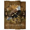 <strong>Wooden Wall Clock</strong> by American Expedition