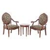 Mi-Zone Madison Park Brentwood 3 Piece Arm Chair Set
