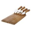 Natural Home Magnetic 5 Piece Cheese Tray Set