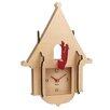 WOLF Jigsaw Cuckoo Wall Clock