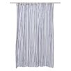 Nine Space Thin Stripe Shower Curtain