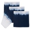 Nine Space Dip Dye Napkins (Set of 4)