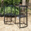 Griffith Creek Designs Classic Conversation Steel Garden Bench