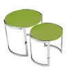 Pangea Home Omni 2 Piece Nesting Tables