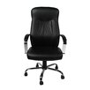 <strong>Leather Office Chair with Arms</strong> by Merax