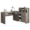 Monarch Specialties Inc. Corner Desk with Hutch