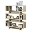 "Monarch Specialties Inc. Reclaimed Look Modern 55"" Bookcase"