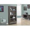 """Monarch Specialties Inc. Reclaimed Look 71"""" Bookcase"""