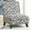 Monarch Specialties Inc. Abstract Slipper Chair