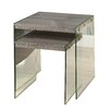 Monarch Specialties Inc. 2 Piece Nesting Table Set