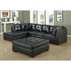 Monarch Specialties Inc. Bonded Leather Sectional