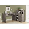 <strong>Corner Desk with Hutch</strong> by Monarch Specialties Inc.