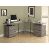 <strong>L-Shape Desk Office Suite</strong> by Monarch Specialties Inc.