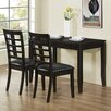 Monarch Specialties Inc. Country 3 Piece Dining Set