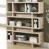 "<strong>Monarch Specialties Inc.</strong> Reclaimed-Look Modern 55"" Bookcase"