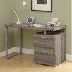 <strong>Computer Desk with Storage Drawer</strong> by Monarch Specialties Inc.