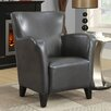 <strong>Monarch Specialties Inc.</strong> Leather-Look Club Chair