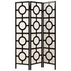 "<strong>Monarch Specialties Inc.</strong> 71"" x 52"" Frame Folding 3 Panel Room Divider"
